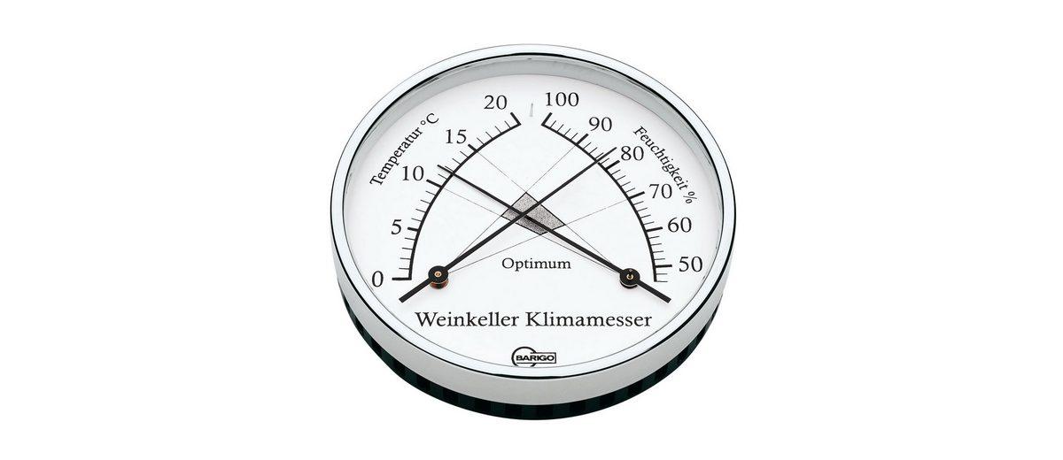 BARIGO Barigo Weinkeller Klimamesser Komfortmeter