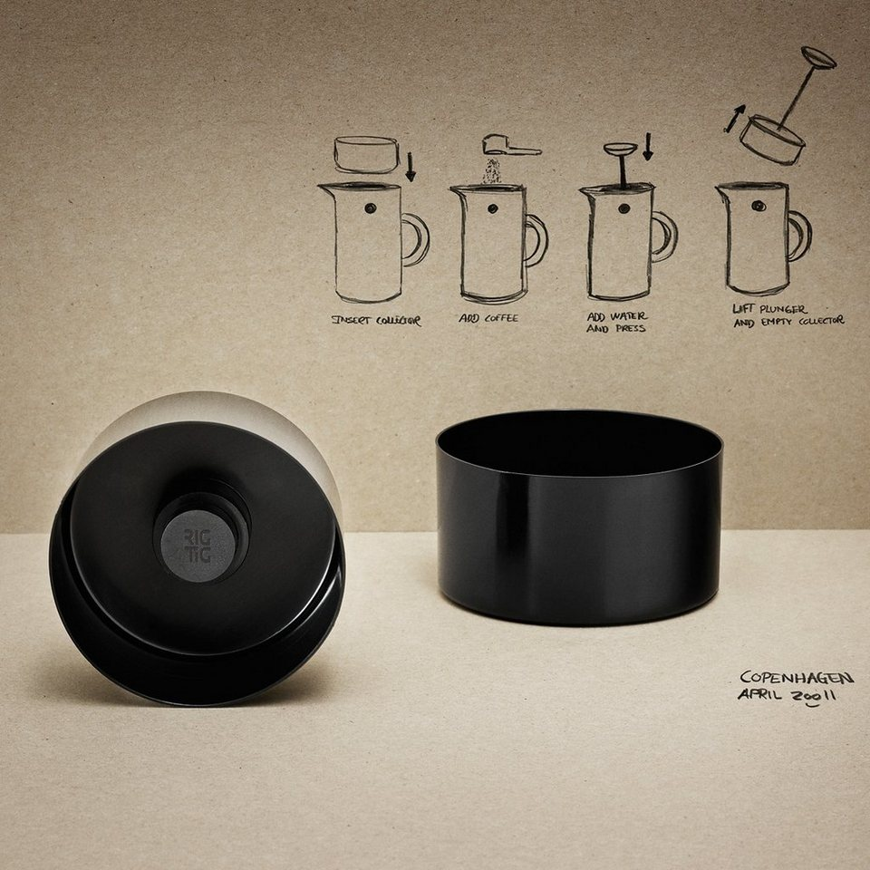 stelton stelton rig tig kaffeesammler 8 3 cm otto. Black Bedroom Furniture Sets. Home Design Ideas