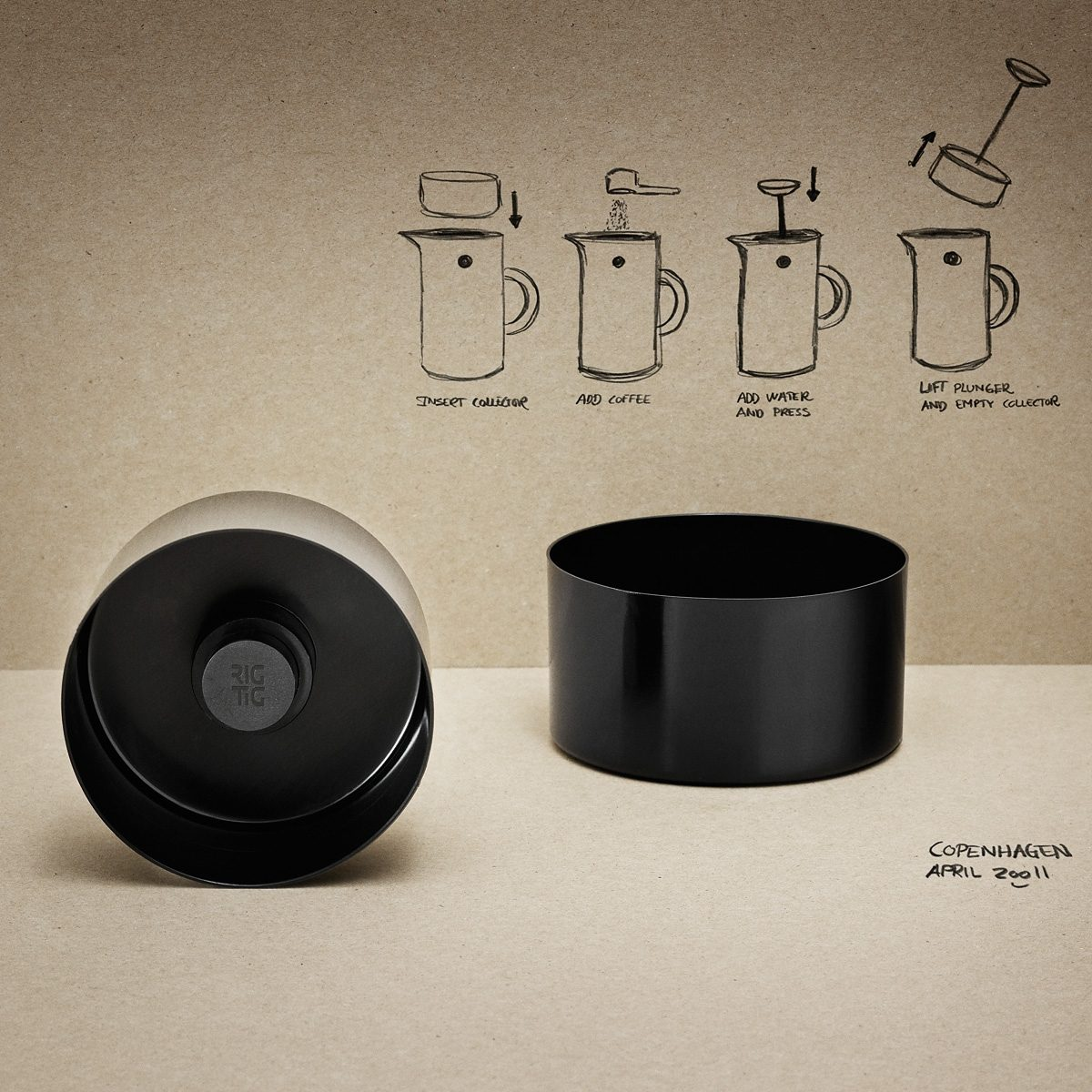 STELTON Stelton RIG-TIG Kaffeesammler 8.3 cm