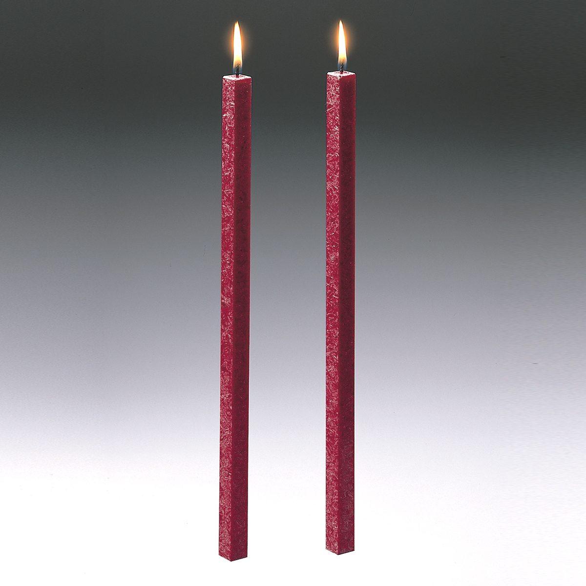 Amabiente Amabiente Kerze CLASSIC rubin 40cm - 2er Set