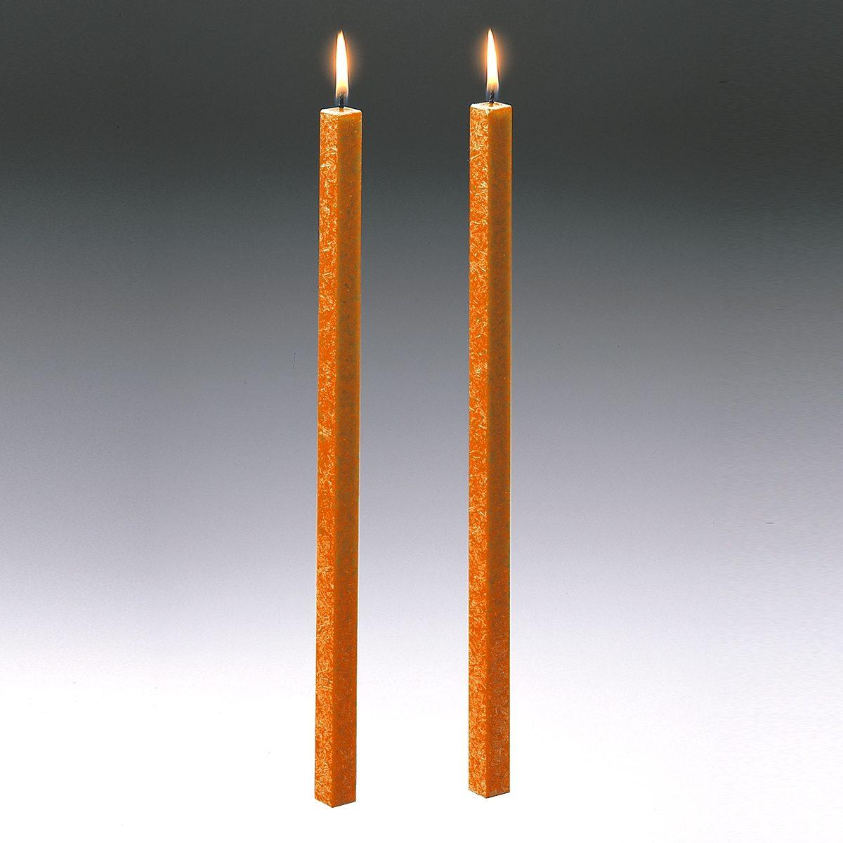 Amabiente Amabiente Kerze CLASSIC orange 40cm - 2er Set
