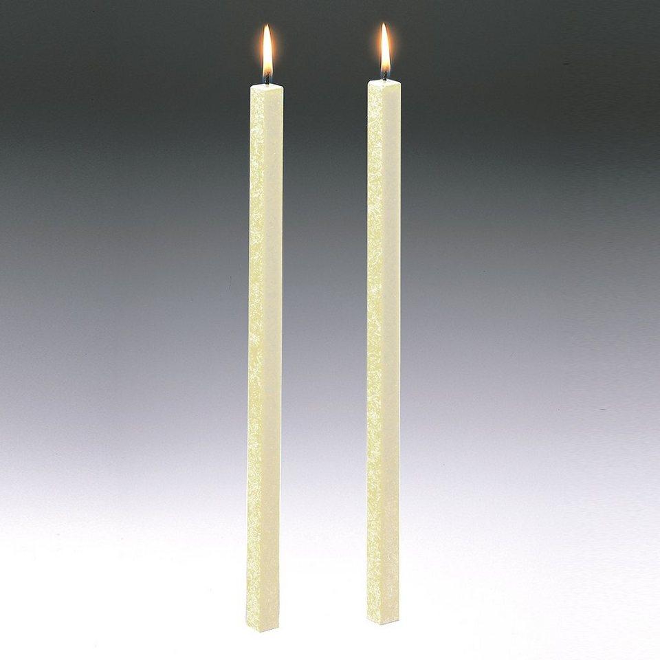 Amabiente Amabiente Kerze CLASSIC elfenbein 40cm - 2er Set in elfenbein