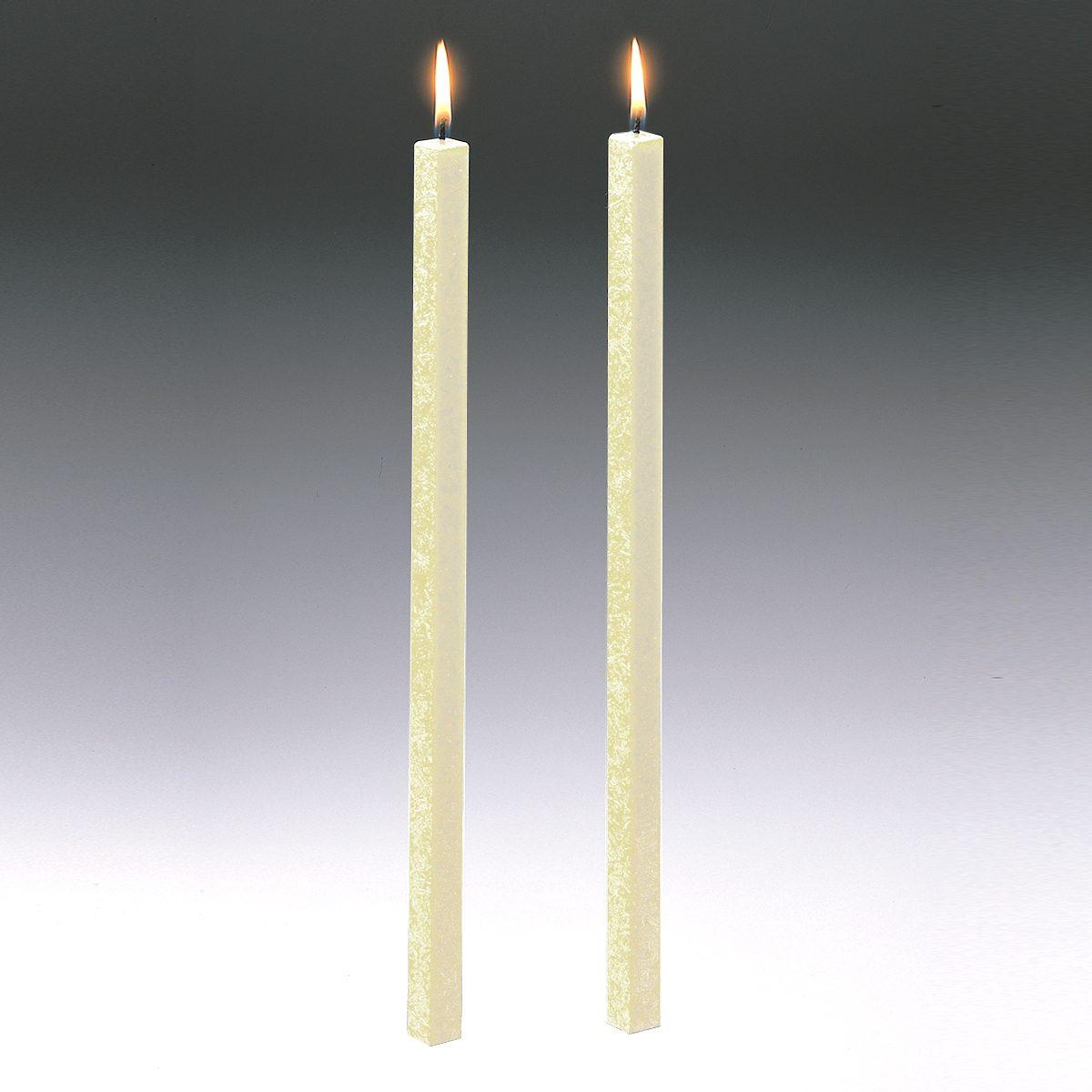 Amabiente Amabiente Kerze CLASSIC elfenbein 40cm - 2er Set