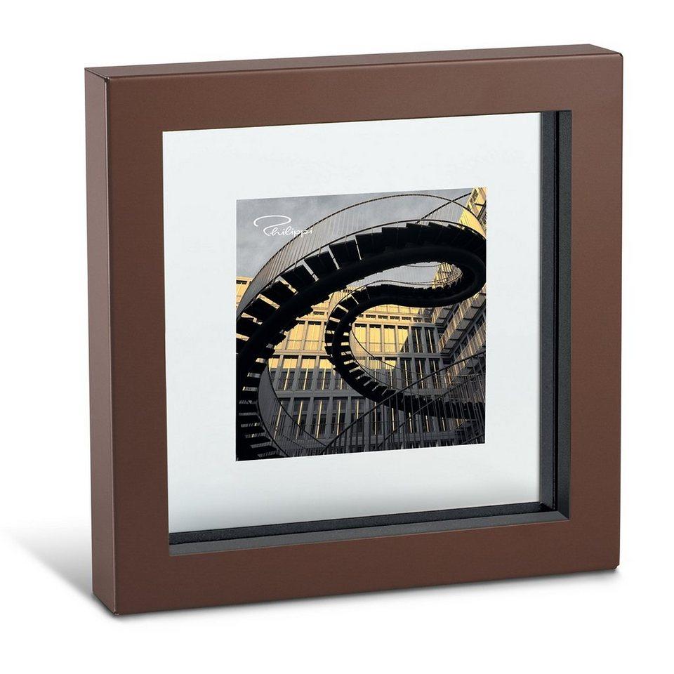 Philippi Philippi Bilderrahmen VIEW 9x9cm braun in braun