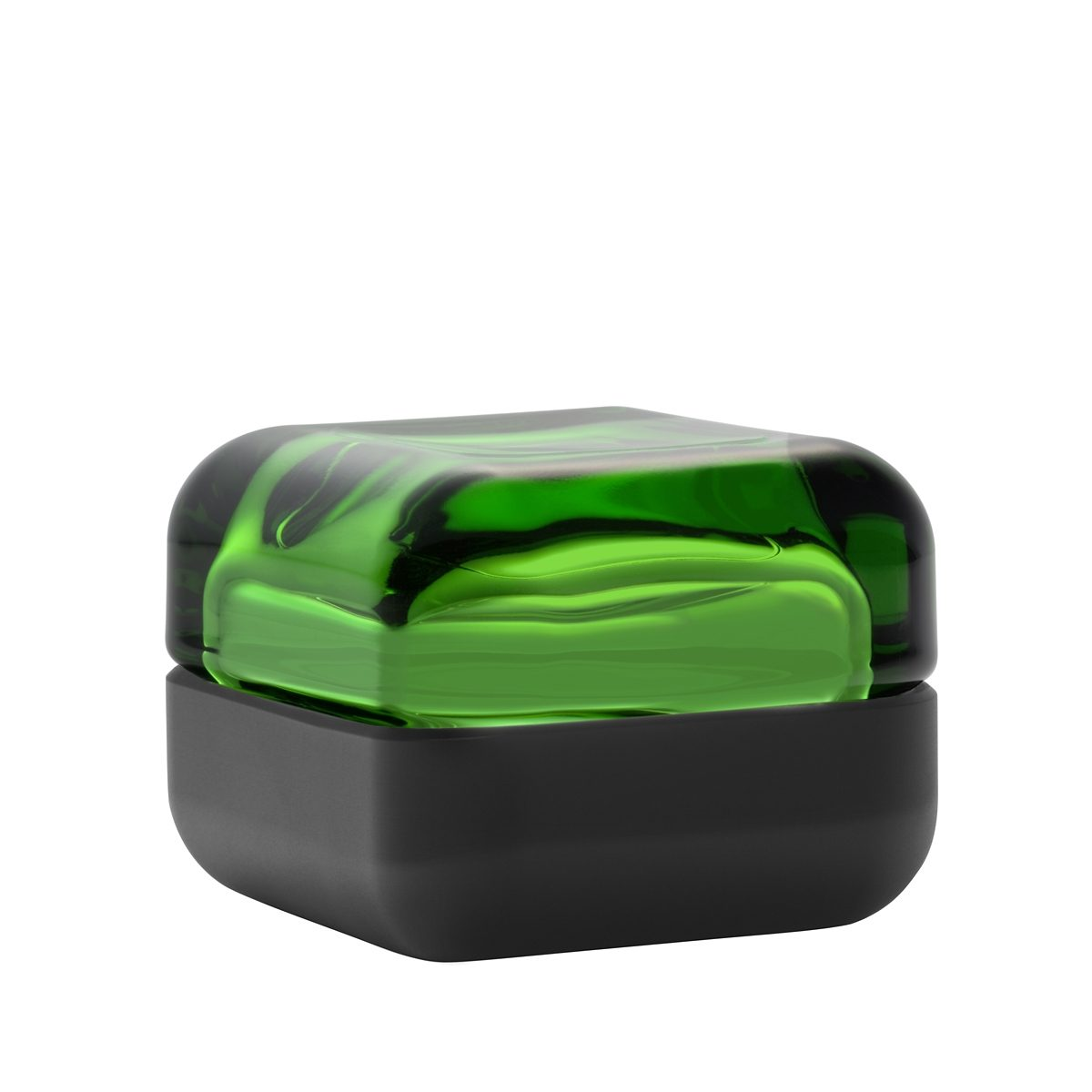 IITTALA Iittala VITRIINI Glasbox 6cm grün-schwarz