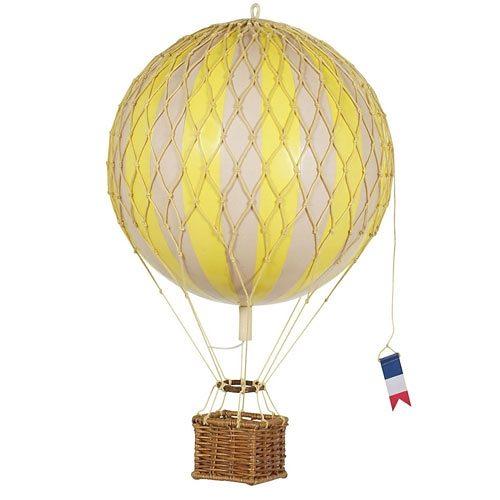 AUTHENTIC MODELS Authentic Models Modellballon 18cm gelb