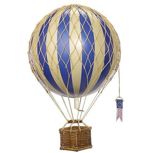 AUTHENTIC MODELS Authentic Models Modellballon 18 cm blau in blau