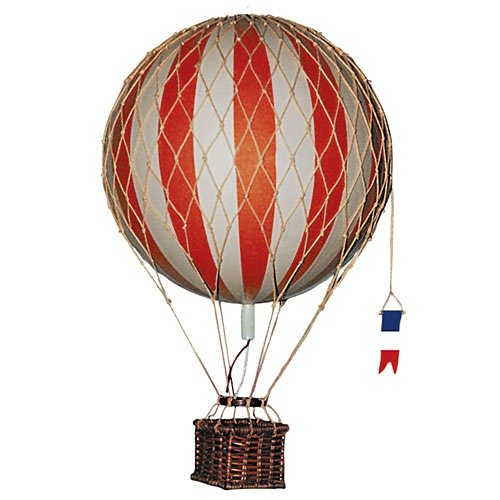 AUTHENTIC MODELS Authentic Models Modellballon 18 cm rot in rot