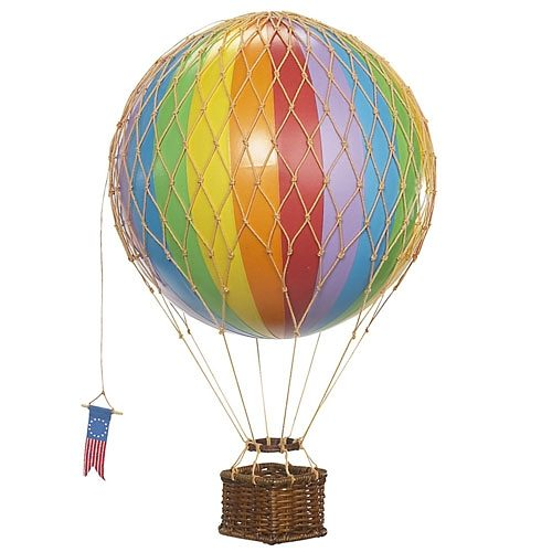 AUTHENTIC MODELS Authentic Models Modellballon 18 cm Regenbogen