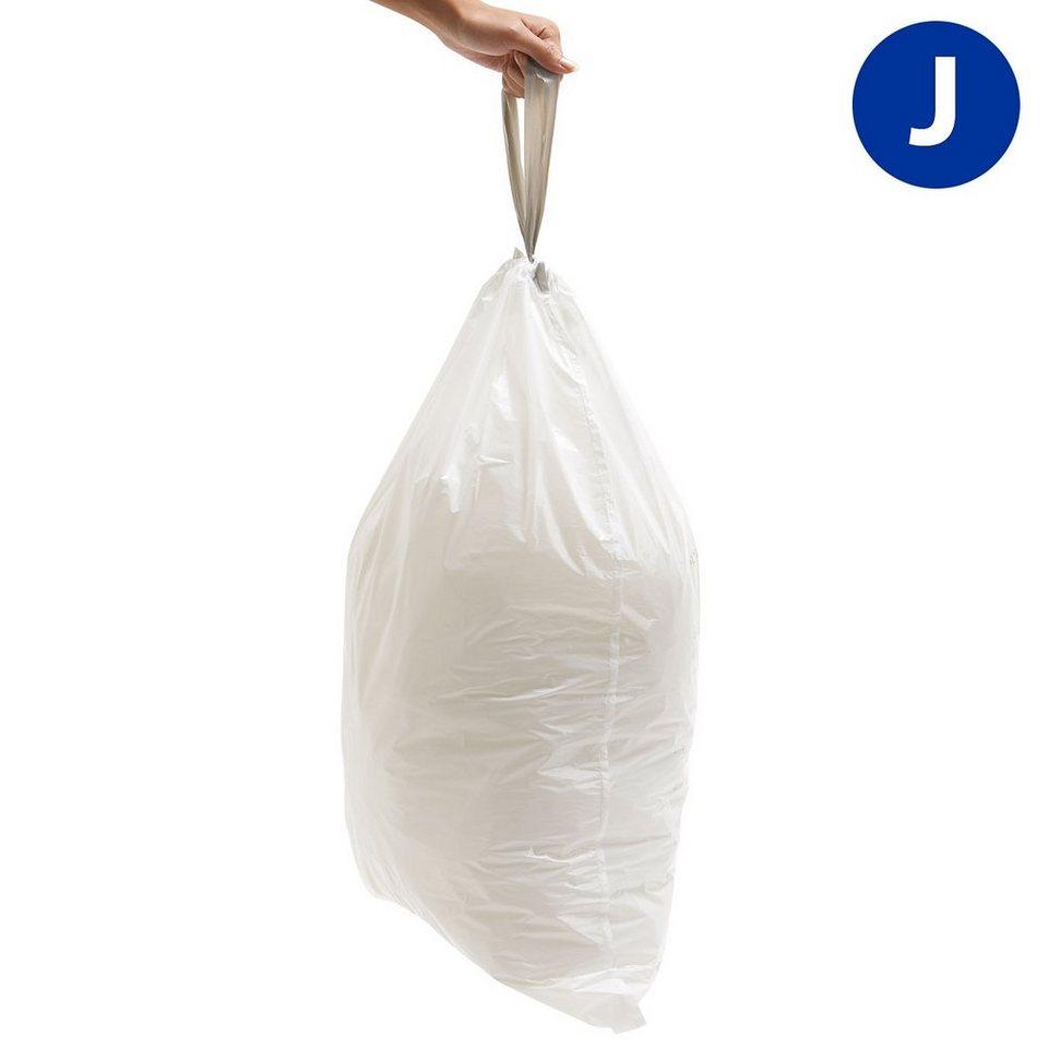 SIMPLEHUMAN simplehuman 20 Abfallbeutel Müllbeutel J 40L