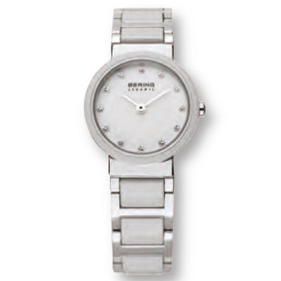 Bering Bering 10725-754 Damenuhr CERAMIC Weiß, Silber in weiß, siber glänzend