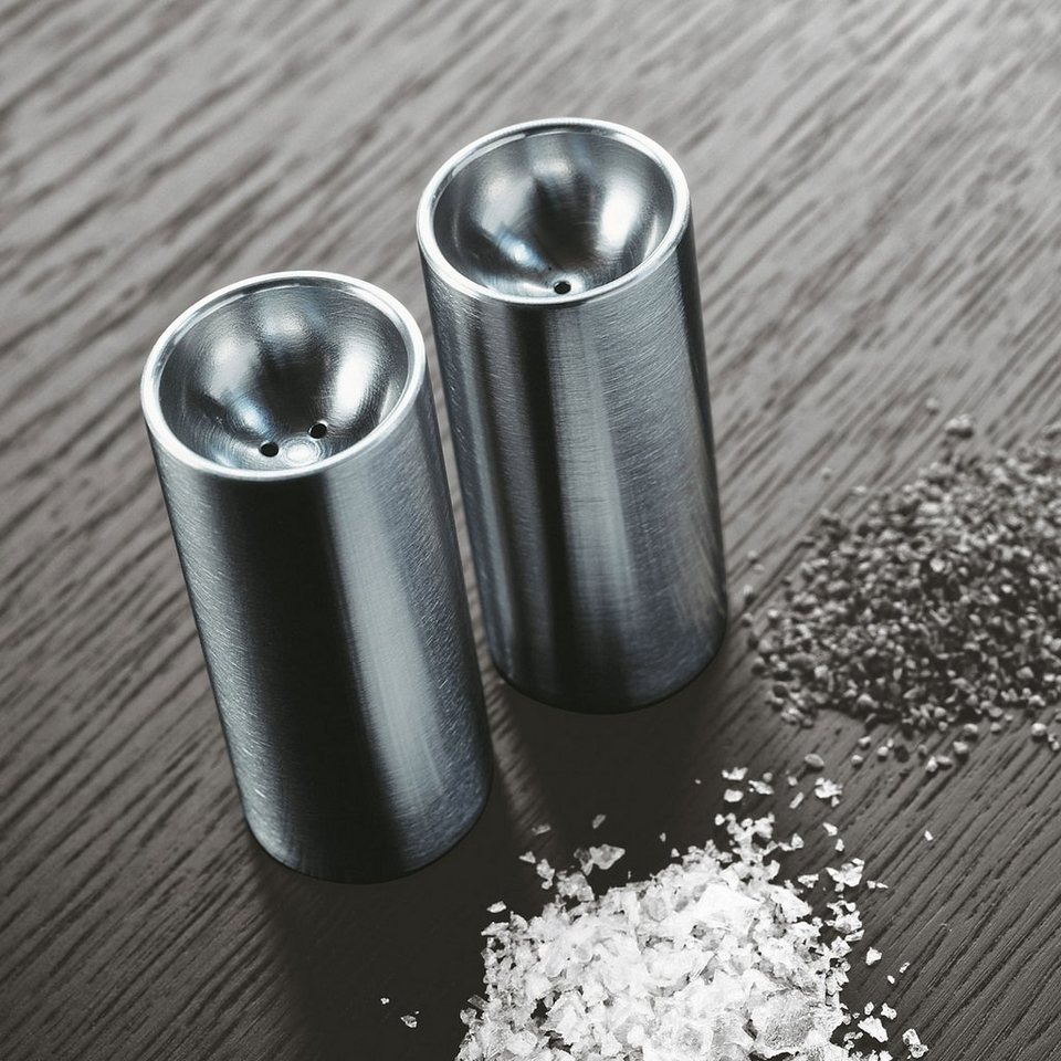 STELTON Stelton Salz- und Pfefferstreuer Edelstahl poliert in satin-poliert