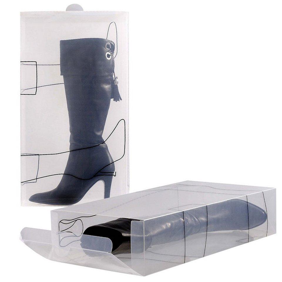 bosign bosign schuhbox transparent f r stiefel 2er set online kaufen otto. Black Bedroom Furniture Sets. Home Design Ideas
