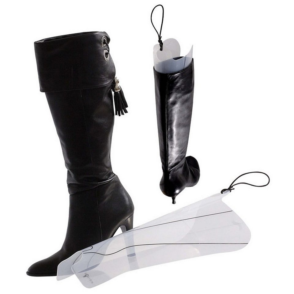 BOSIGN Bosign Stiefelspanner Kunststoff - 4er Set in transparent, schwarz