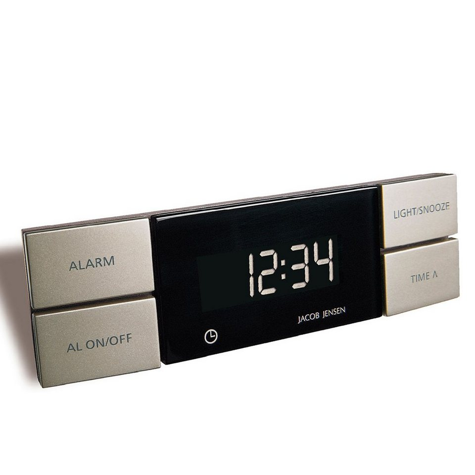 JACOB JENSEN Jacob Jensen Wecker ALARM CLOCK in Kupfer-Bronze