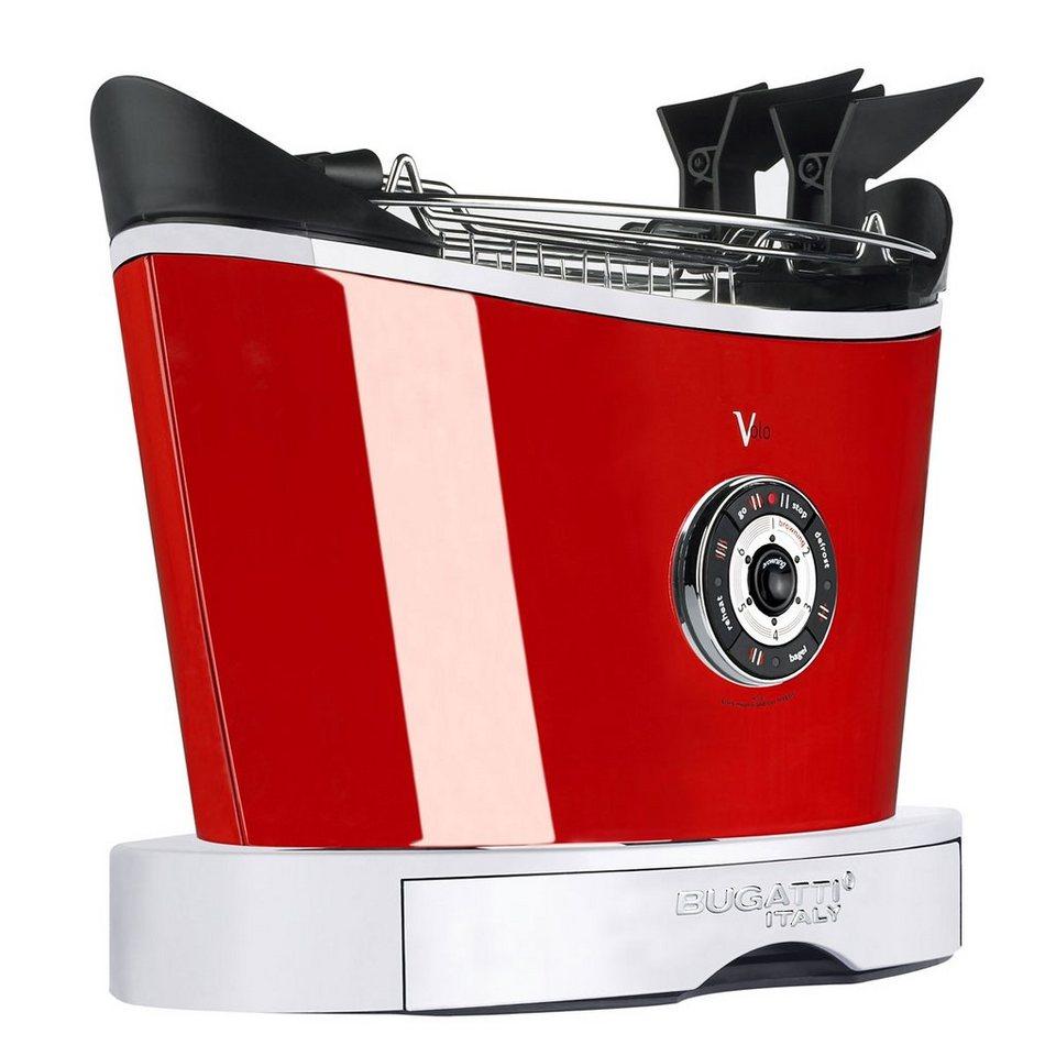 BUGATTI_TECHNIK Bugatti Toaster VOLO rot in rot