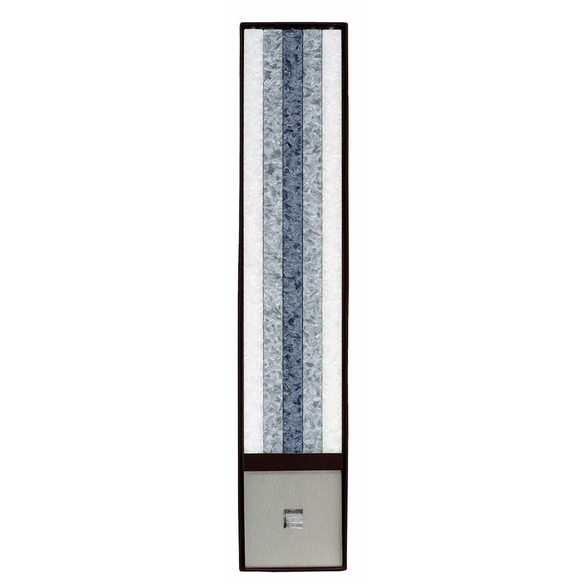 Amabiente Amabiente Kerzen CLASSIC weiß-silber-stein Geschenkset - 6tlg.