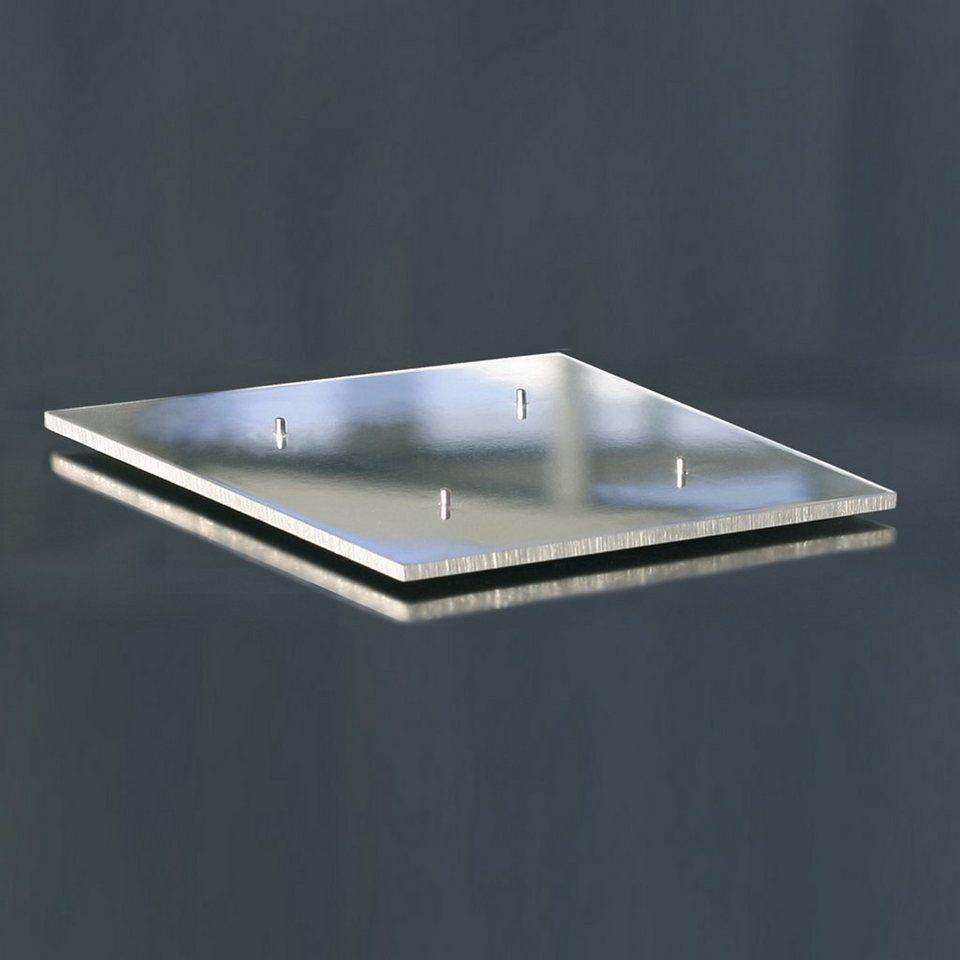 Amabiente Amabiente Leuchterplatte TA1 Aluminium