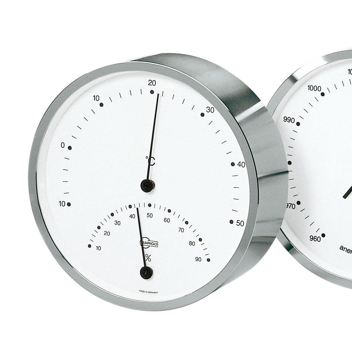 BARIGO Barigo Thermo- Hygrometer silber