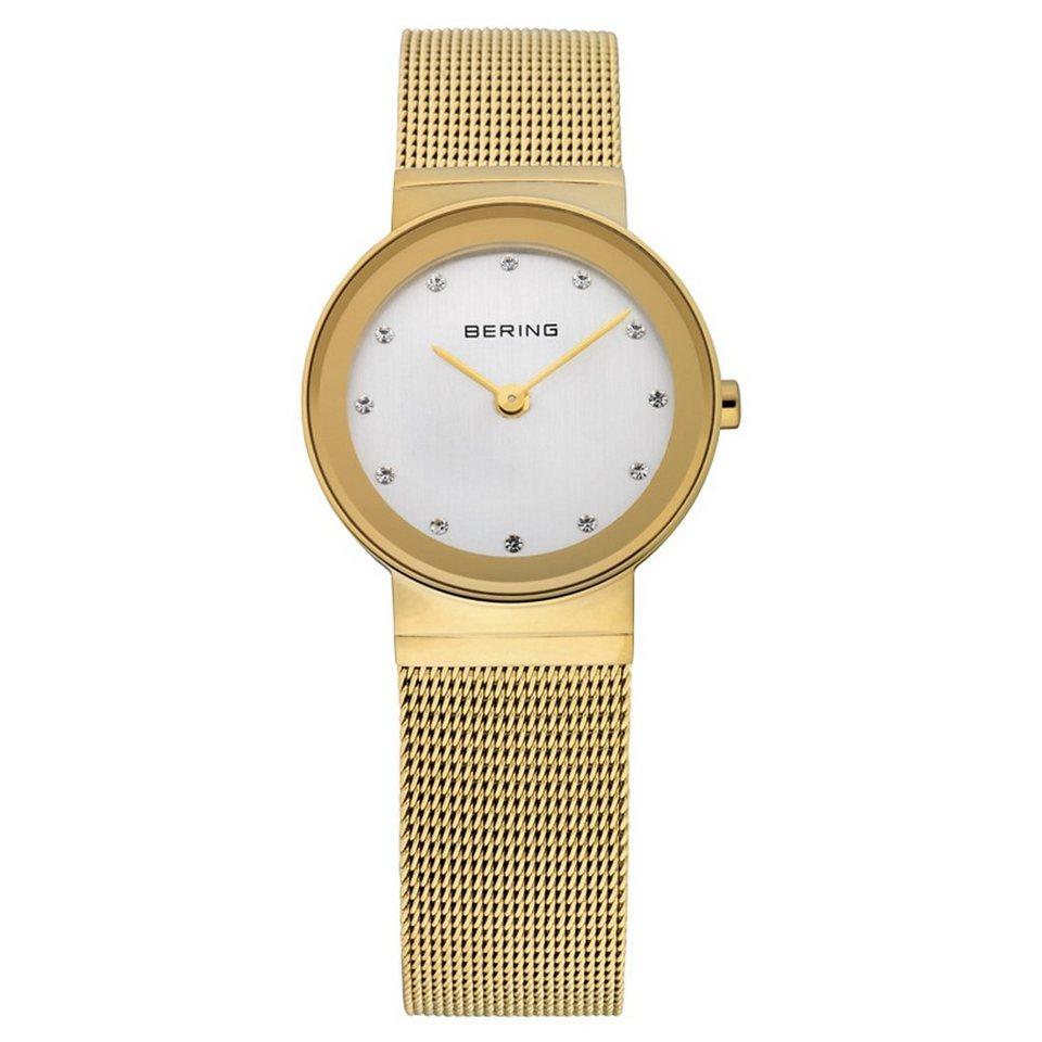 Bering Bering 10126-334 Damenuhr CLASSIC in weiß, gold  IP Gold-