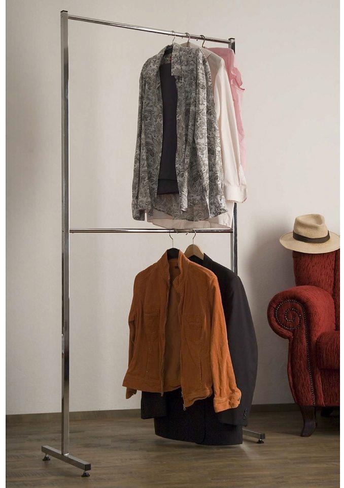 GGG MÖBEL Kleiderständer »Coco« mit 2 Kleiderstangen