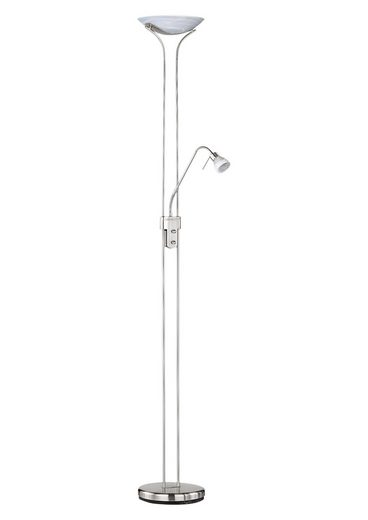 TRIO Leuchten Deckenfluter, 2-flammig, Leseleuchte flexibel einstellbar
