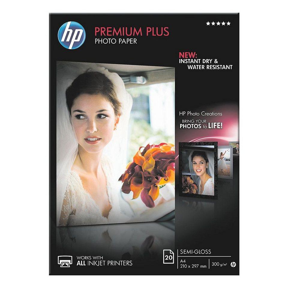 HP Fotopapier »HP premium plus photo paper CR673A«
