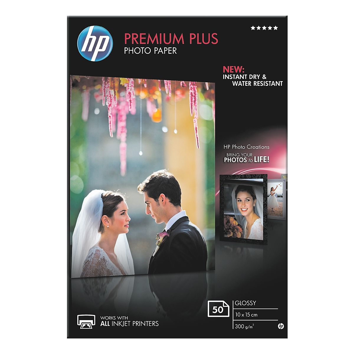 HP Fotopapier »HP premium plus photo paper CR695A«