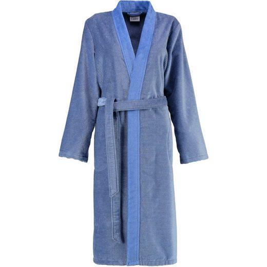 Damenbademantel »Two-Tone 6431 Kimono Velours«, Cawö