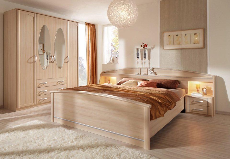 Schlafzimmer set rauch 4 tlg