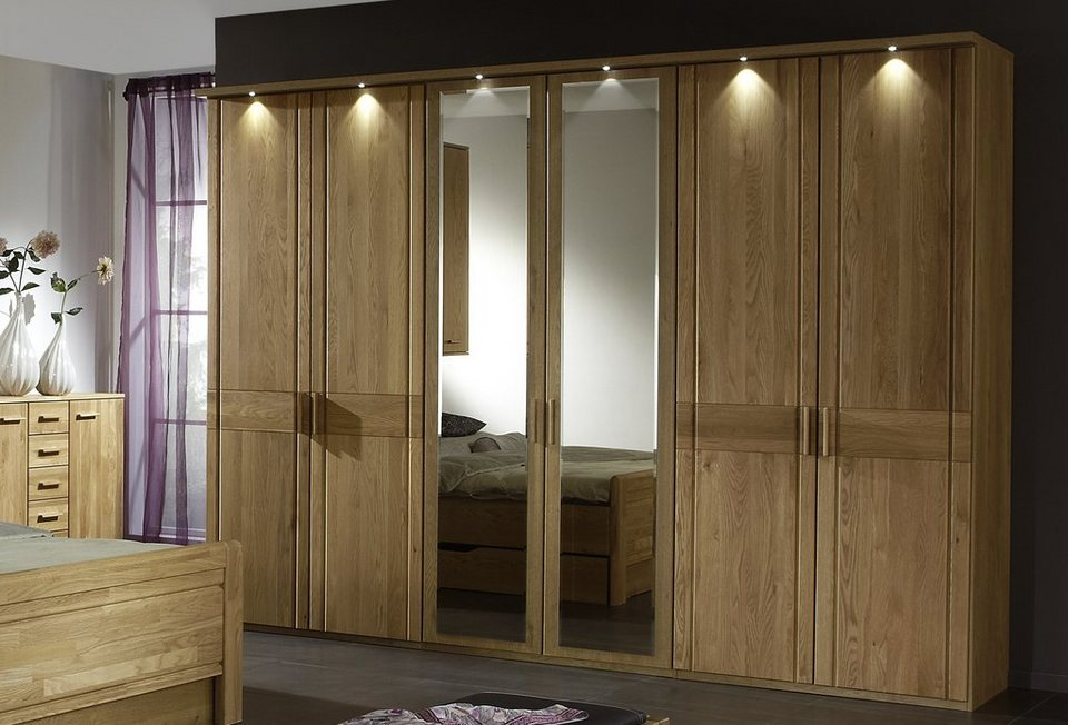 wiemann kleiderschrank m nster mit spiegelt ren otto. Black Bedroom Furniture Sets. Home Design Ideas