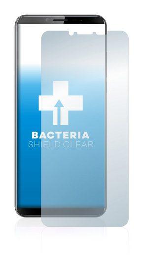 upscreen Schutzfolie »für Cubot X19«, Folie Schutzfolie klar antibakteriell