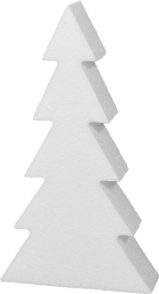 vbs styroporfigur »tannenbaum« verschiedene größen