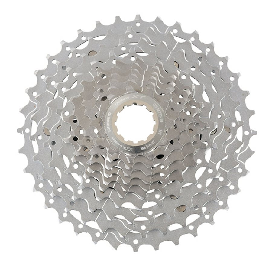 Shimano Fahrradkasetten »Deore XT CS-M771 Kassette 10-fach«