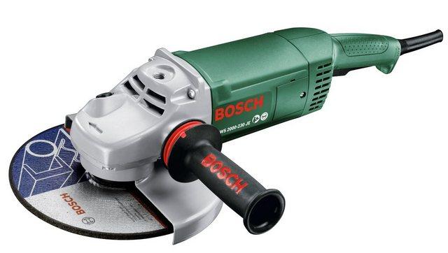 BOSCH Winkelschleifer »PWS 2000-230 JE« | Baumarkt > Werkzeug > Fräsen und Schleifer | Bosch