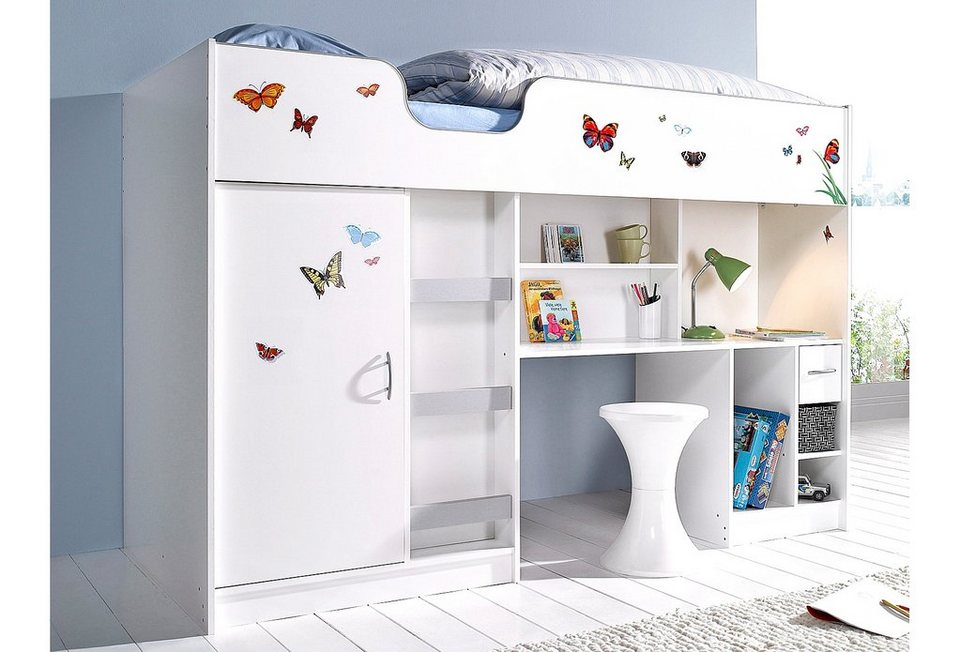 hochbett schrank kombination awesome schrank hochbett. Black Bedroom Furniture Sets. Home Design Ideas