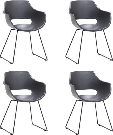 MCA furniture Schalenstuhl »Rockville« 4er-Set, Stuhl belastbar bis 120 Kg