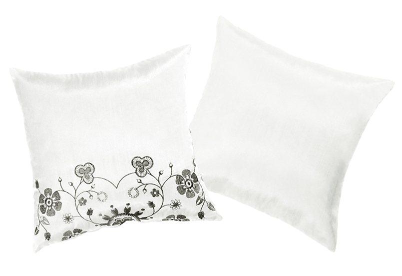 Kissenhüllen, My home, »Chamonix« (2er Pack) in weiß