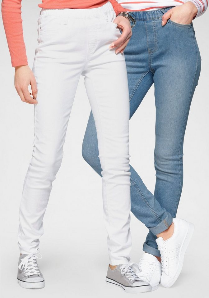 flashlights -  Jeansjeggings (Packung, 2er-Pack) High Waist