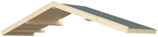 Kiehn-Holz Vordach »Lillevilla«, BxT: 437x140 cm