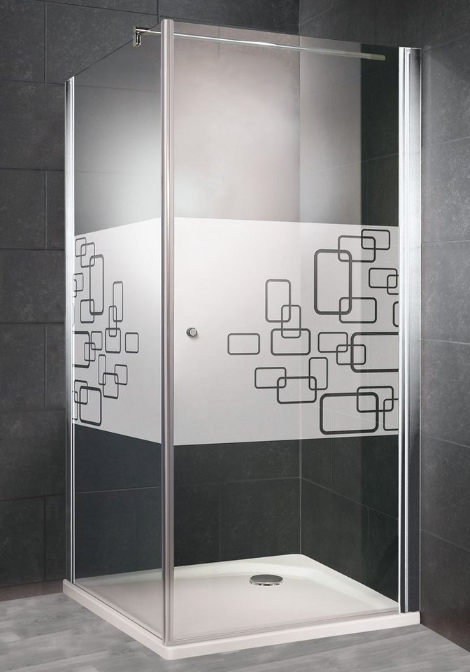 Eckdusche »Alexa Style 2.0«, 90 cm x 90 cm in alunatur