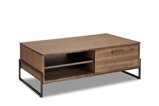 ebuy24 Couchtisch »Maro Couchtisch 75x120 cm, 2 Schubladen, 1 Ablage,«