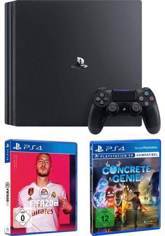 PlayStation 4 Pro 1TB ir Fifa 20 ir Concrete Genie