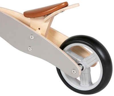 Pinolino® Laufrad »Charlie«, für Kinder ab 18 Monate, grau- natur
