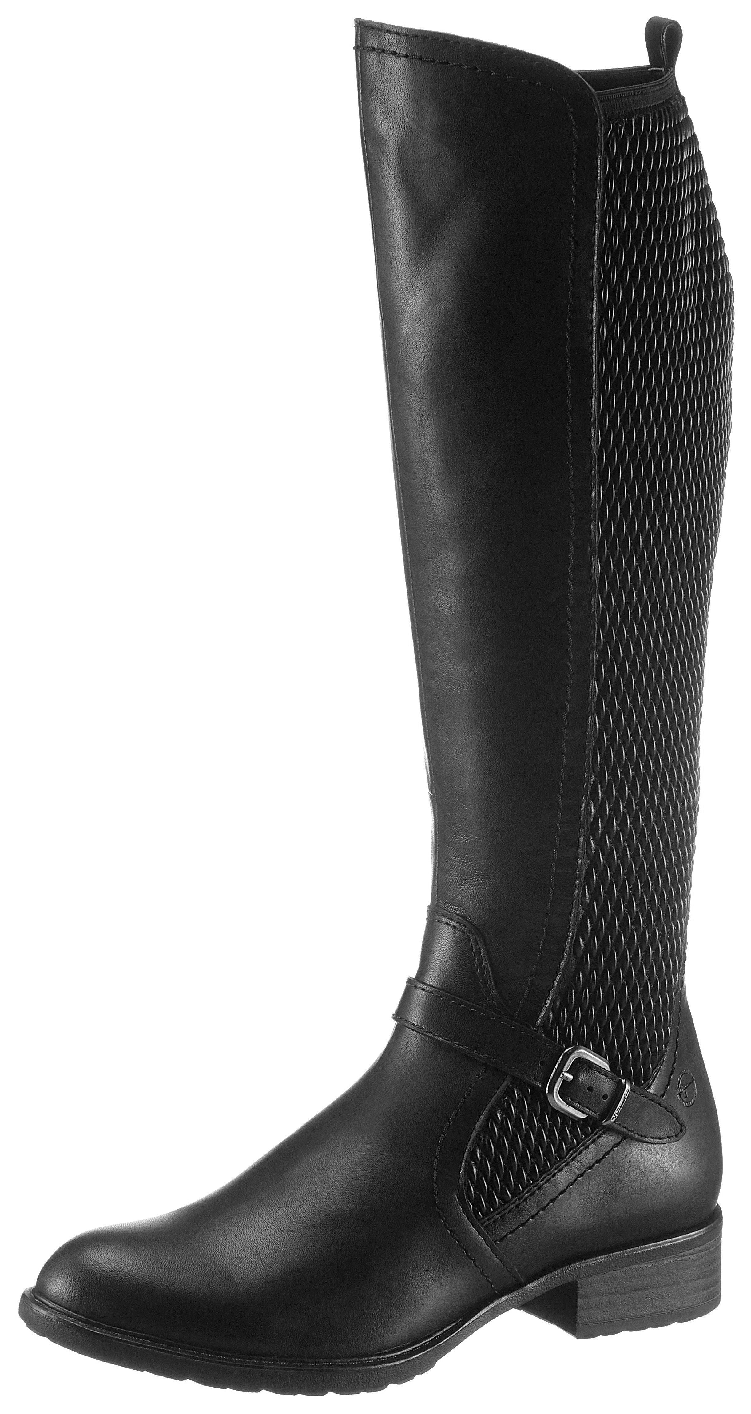 Tamaris schwarze Stiefel im OTTO Online Shop kaufen