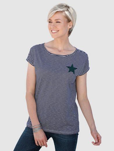 Laura Kent Shirt im modischen Streifen-Dessin