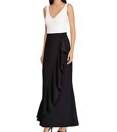 Lauren Ralph Lauren Abendkleid »LAUREN RALPH LAUREN Abendkleid feminines Damen Ballkleid mit Weißem Top Mode-Kleid Schwarz«