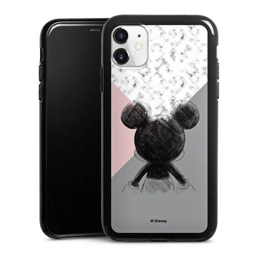 DeinDesign Handyhülle »Mickey Mouse Scribble« Apple iPhone 11, Hülle Disney Marmor Offizielles Lizenzprodukt