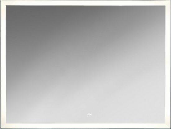 KRISTALLFORM Spiegel »Sora«, 80 x 60 cm, LED