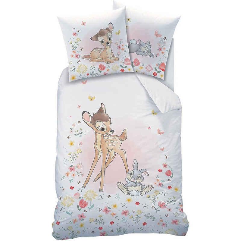 Bettwäsche »Wende-Kinderbettwäsche Disney Bambi, Renforcé, 100«, CTI